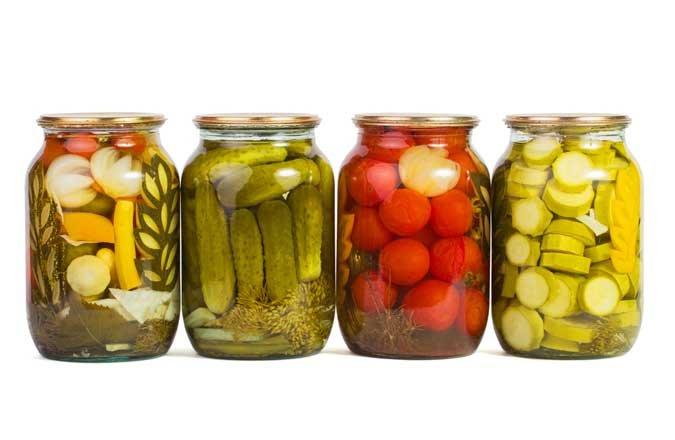 Grönsakskonserver