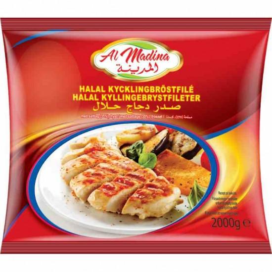 Al Madina kycklingbröstfile 2kg (Halal)