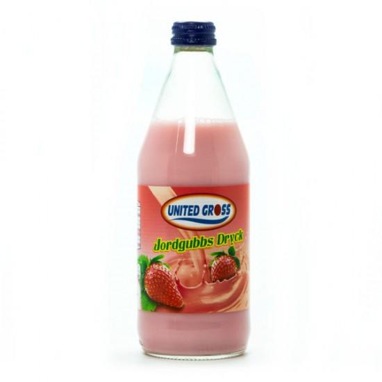 Jordgubbs Dryck United Gross 500 ml