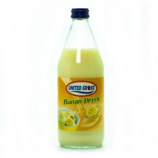 Banan Dryck United Gross 500 ml
