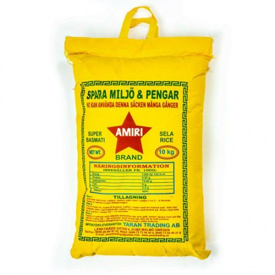 Amiri Basmati Ris 10kg
